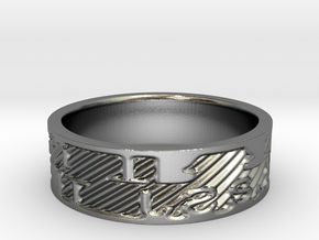 Ring SJ-TR in Polished Silver