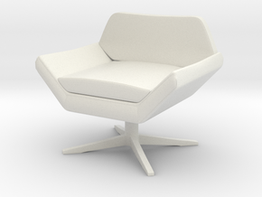 1:48 Sly Lounge Chair in White Strong & Flexible