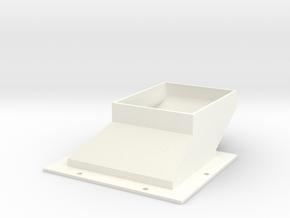 ShortDuct5soft in White Processed Versatile Plastic