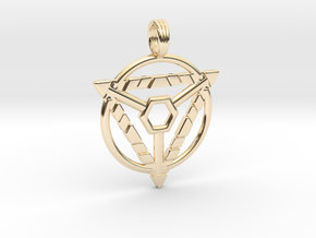 MYSTIC TRION in 14K Yellow Gold