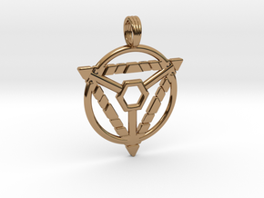 MYSTIC TRION in Polished Brass