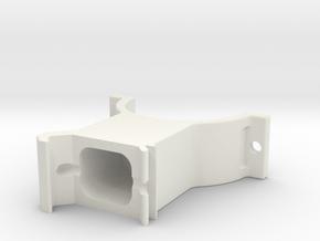 LSR Ring [Bottom] in White Natural Versatile Plastic