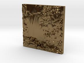 Hopetoun Waterfall in Polished Bronze