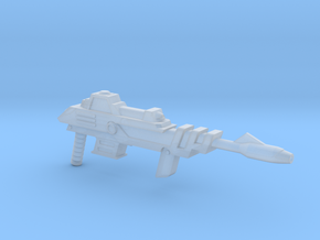 Savage Laser Rifle in Smooth Fine Detail Plastic