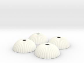 1/160 N scale army parachute para Fallschirm in White Processed Versatile Plastic
