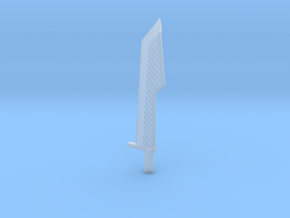 Half Sword in Smooth Fine Detail Plastic