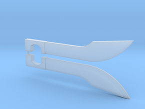 Prime Blades (pair) in Smooth Fine Detail Plastic
