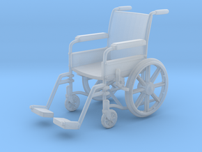 Wheelchair 01. 1:24 Scale in Smooth Fine Detail Plastic