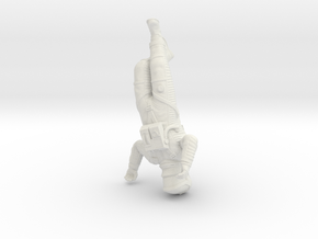 SF Astronaut Sleeping  (55mm Version) in White Natural Versatile Plastic