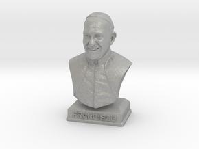 Pope Francis in Aluminum