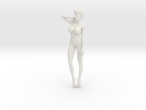 1/9 Elegant lady 001 in White Strong & Flexible