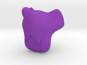Cleromancy Token - Travel/Transport/Movement in Purple Processed Versatile Plastic