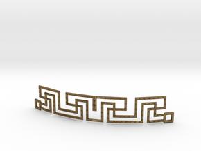 Urban Style Bracelet in Polished Bronze