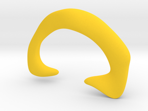 Cleromancy Token - Hearing/Communication/Discussio in Yellow Processed Versatile Plastic