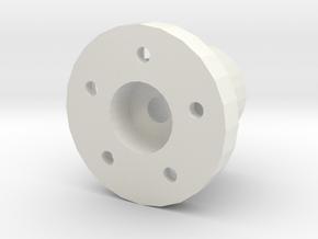 Spare tyre holder Adventure D90 D110 Gelande 1:10 in White Natural Versatile Plastic