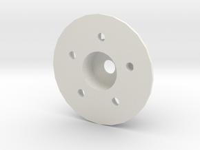 Rim adapter with disk brake Adventure D90 D110 Gel in White Natural Versatile Plastic