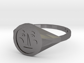 Signet Face v01 M in Polished Nickel Steel