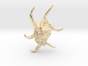 Harpago Chiragra in 14k Gold Plated Brass