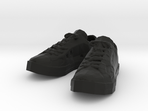 Sneakers in Black Natural Versatile Plastic