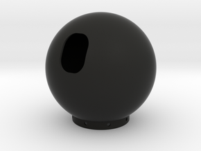 Dalek Gunstick (full Ball) in Black Natural Versatile Plastic