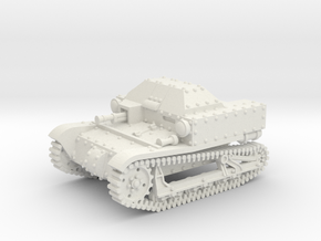 T27a Tankette (15mm) in White Natural Versatile Plastic