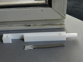 Window Retainer in White Strong & Flexible