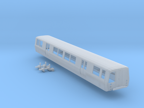 N Scale BART C Car Powered in Smooth Fine Detail Plastic