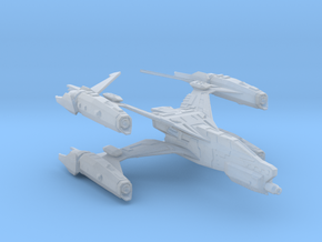 Thunderbolt MKII Space Config in Smoothest Fine Detail Plastic
