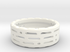 PitLand Ring in White Processed Versatile Plastic