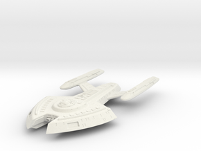 Defiant Class Scoutdestroyer in White Strong & Flexible