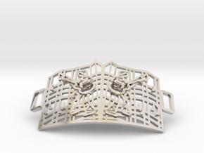 Graceland Gate Bracelet in Rhodium Plated Brass