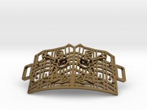 Graceland Gate Bracelet in Polished Bronze