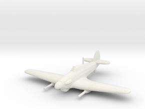 Hawker Hurricane Mk.IV w/ Vickers S in White Strong & Flexible: 1:200