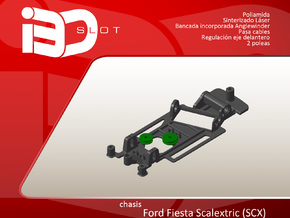 Chasis para Ford Fiesta scx in White Natural Versatile Plastic