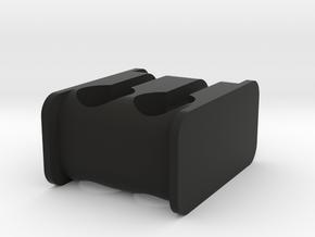 Headphone Saver in Black Natural Versatile Plastic