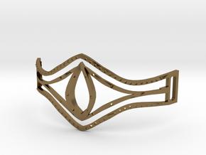 Eye Of Pharaoh Bracelet in Polished Bronze