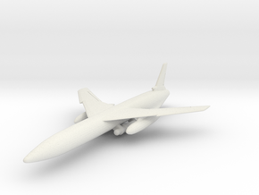 Northrop SM-62 (B-62) Snark 1/144 in White Natural Versatile Plastic