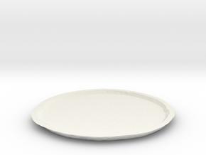 Vesta Asteroid Planter Dish (small) in White Natural Versatile Plastic