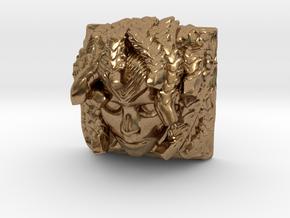 Medusa Keycap (Cherry MX DSA) in Natural Brass
