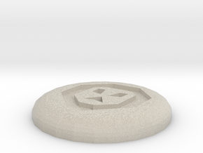 Chaos Rune in Natural Sandstone