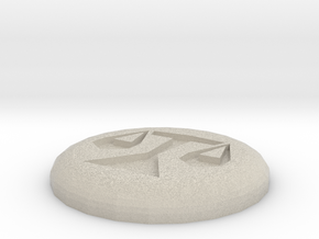 Law Rune in Natural Sandstone