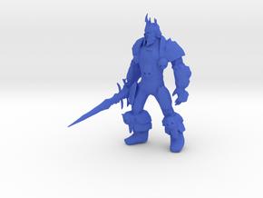 Lich King  in Blue Processed Versatile Plastic
