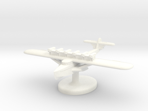 Dornier Do-X German Seaplane (Germany) 1/700 (Qty. in White Processed Versatile Plastic