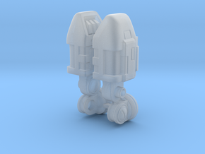 Storm Mech Arms in Smooth Fine Detail Plastic