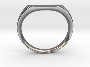 Ring - Personalized Occasion in Fine Detail Polished Silver