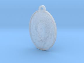 Hurricane Eye Earring in Smooth Fine Detail Plastic