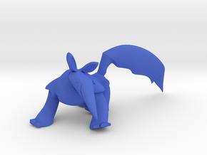 TITO .  Tamandua Bandeira . Anteater . 蟻食い . in Blue Processed Versatile Plastic