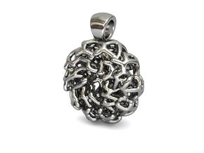 PERLA Pendant in Polished Silver