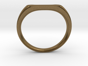 Ring - Personalized Occasion in Natural Bronze