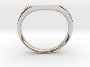 Ring - Personalized Occasion in Platinum